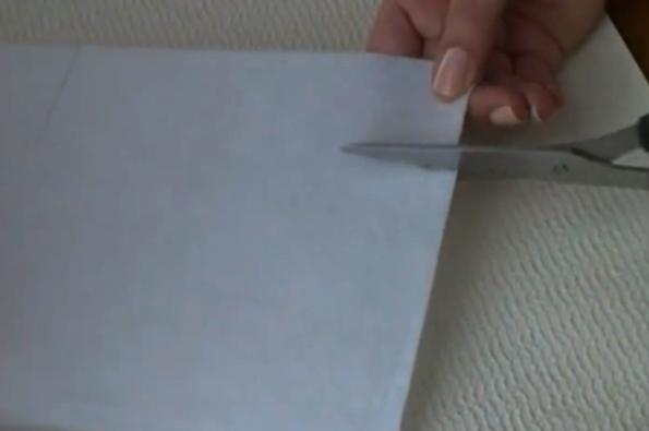 corte de cartón para separador de tela