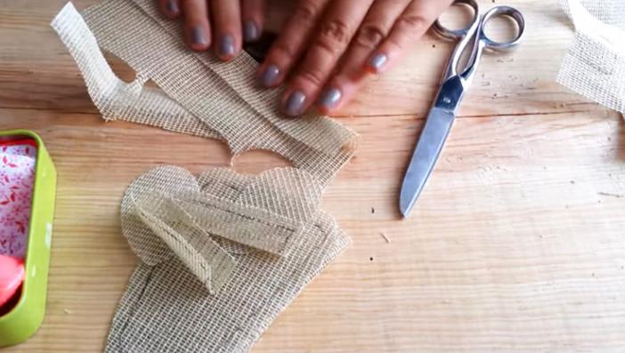 corte de pies y manos para ratoncito de tela
