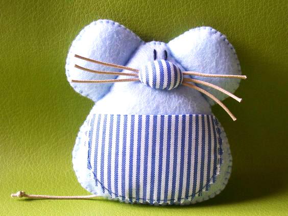 ratoncito de tela extratip