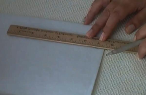 realización de cartón para separador de tela