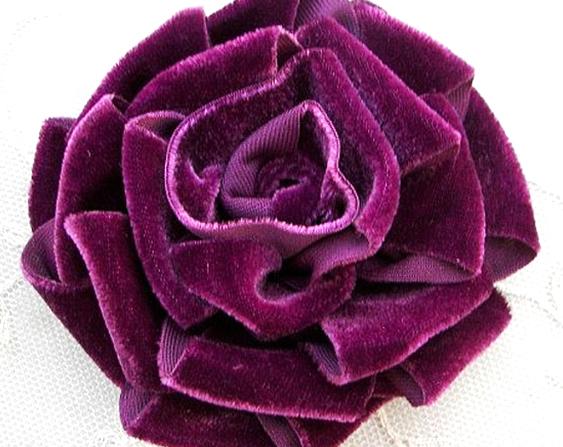 flor de tela para decoración extratip