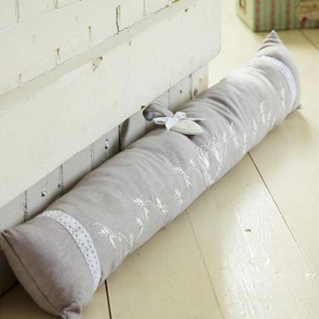 Cómo realizar un protector de tela para puerta.