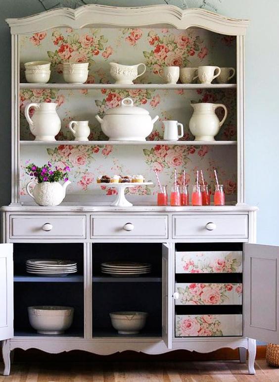 mueble restaurado con tela extratip