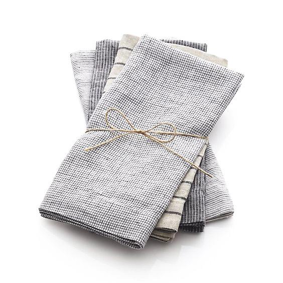 Cómo realizar servilletas de tela.