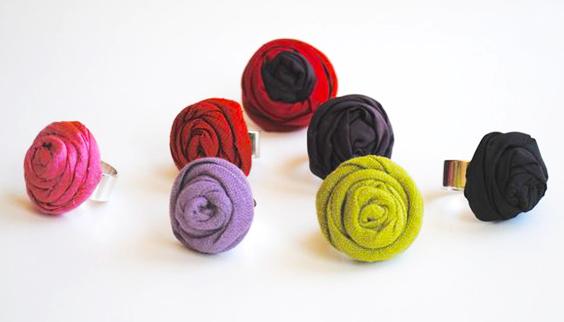 anillo de corcho y tela extratip