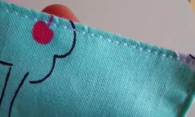 cierre de espacio de tela para funda de caja de pañuelos