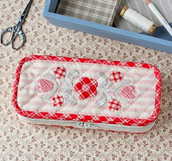 Cómo hacer un costurero de tela.