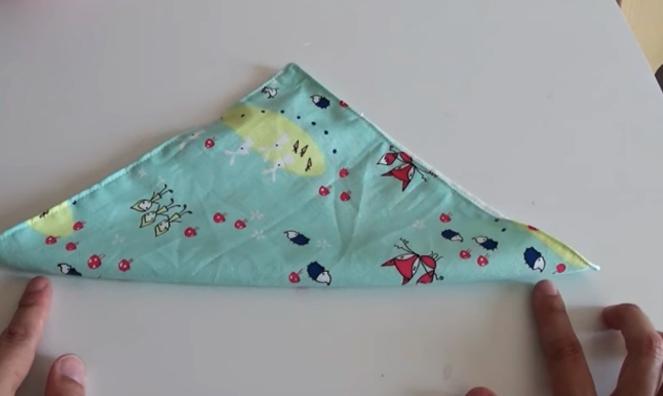 marcado de botones para funda de tela para caja de pañuelos