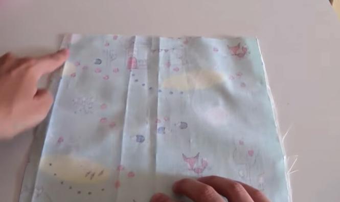 unión de cuadros de tela para funda de caja de pañuelos