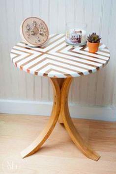 Cómo reciclar una mesa ratona con tela.