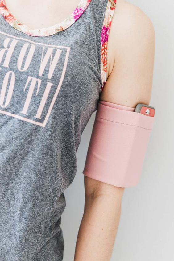 porta celular de tela para brazo extratip