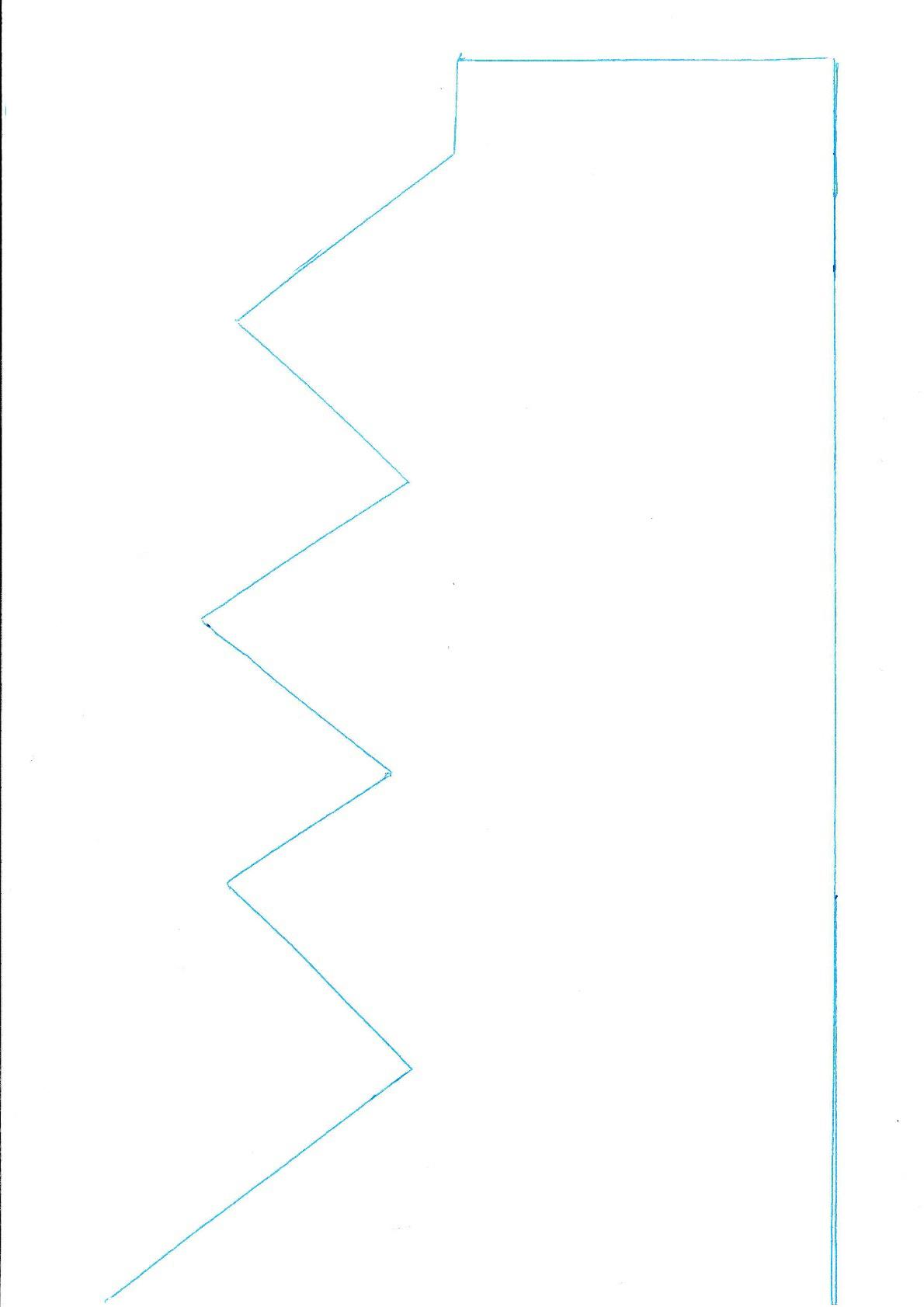 descarga de patrón para corona de tela