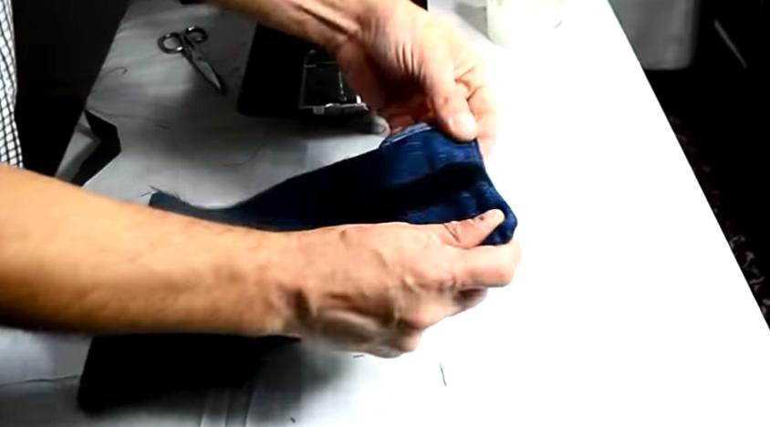 vuelta de piezas para pesas de tela para tobillos