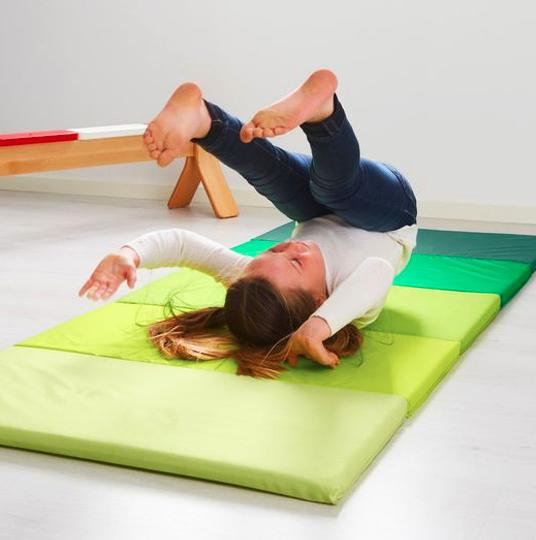 colchoneta de tela para ejercicio extratip