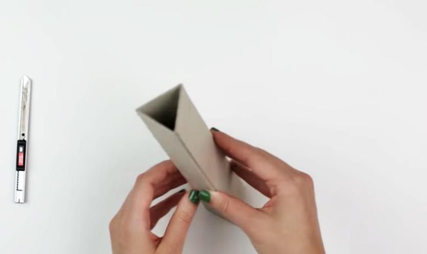 formación de triángulo para caleidoscopio decorado en tela
