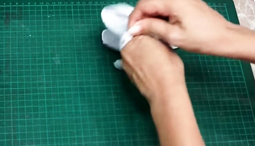 vuelta de guantes de tela para protección contra coronavirus