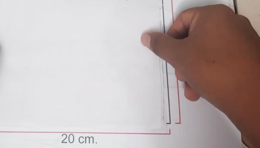 corte y marcado de telas para tapa boca contra coronavuris