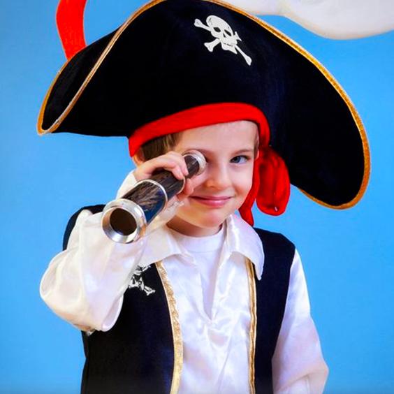 Cómo hacer un sombrero pirata de tela