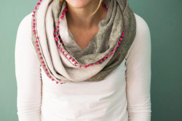 bufanda de tela infinita extratip