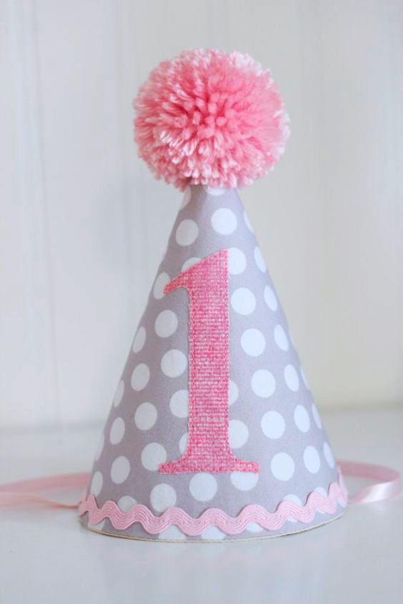 gorro de tela para cumpleaños extratip