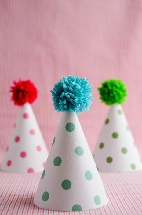Cómo confeccionar un gorro de tela para cumpleaños