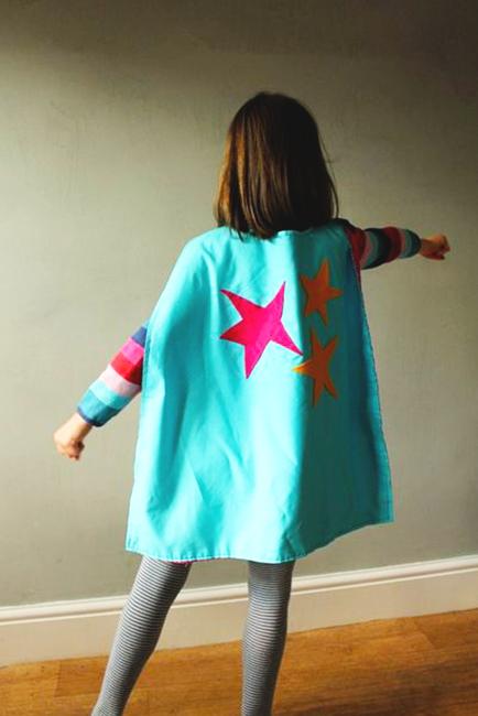 capa de tela de superhéroe extratip