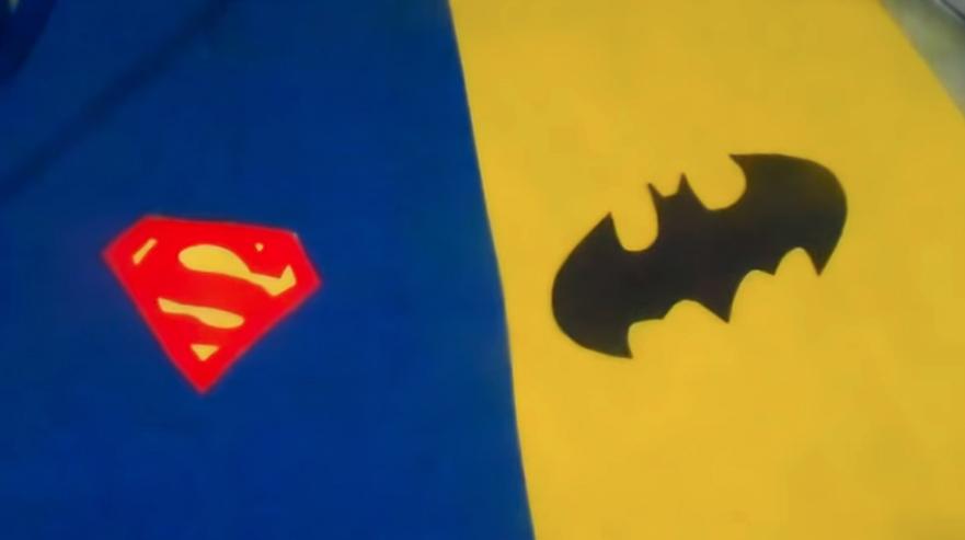 capa de tela de superhéroe