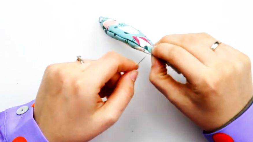 costura de unión de tela para juguete Montessori