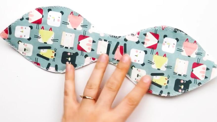 costura en tela para juguete Montessori