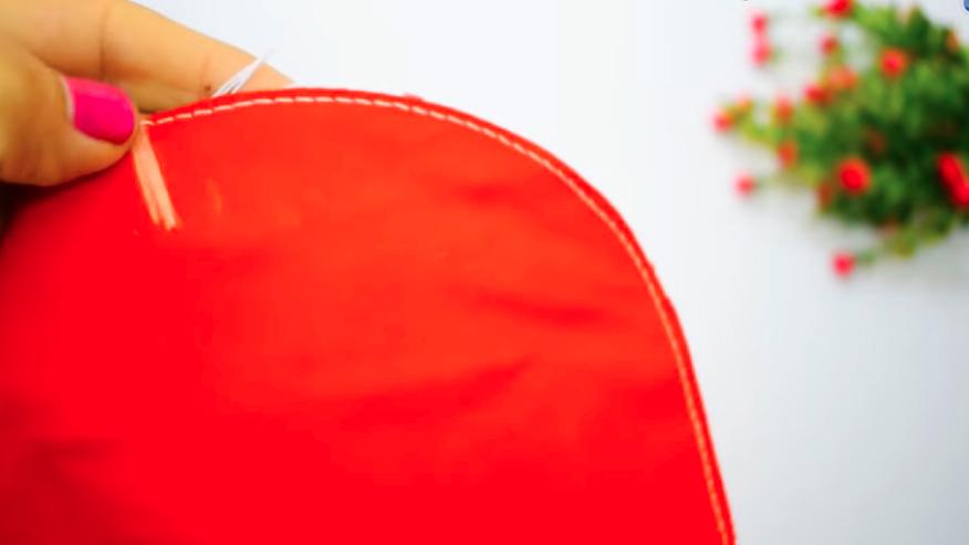 primer costura de telas superiores para funda de licuadora